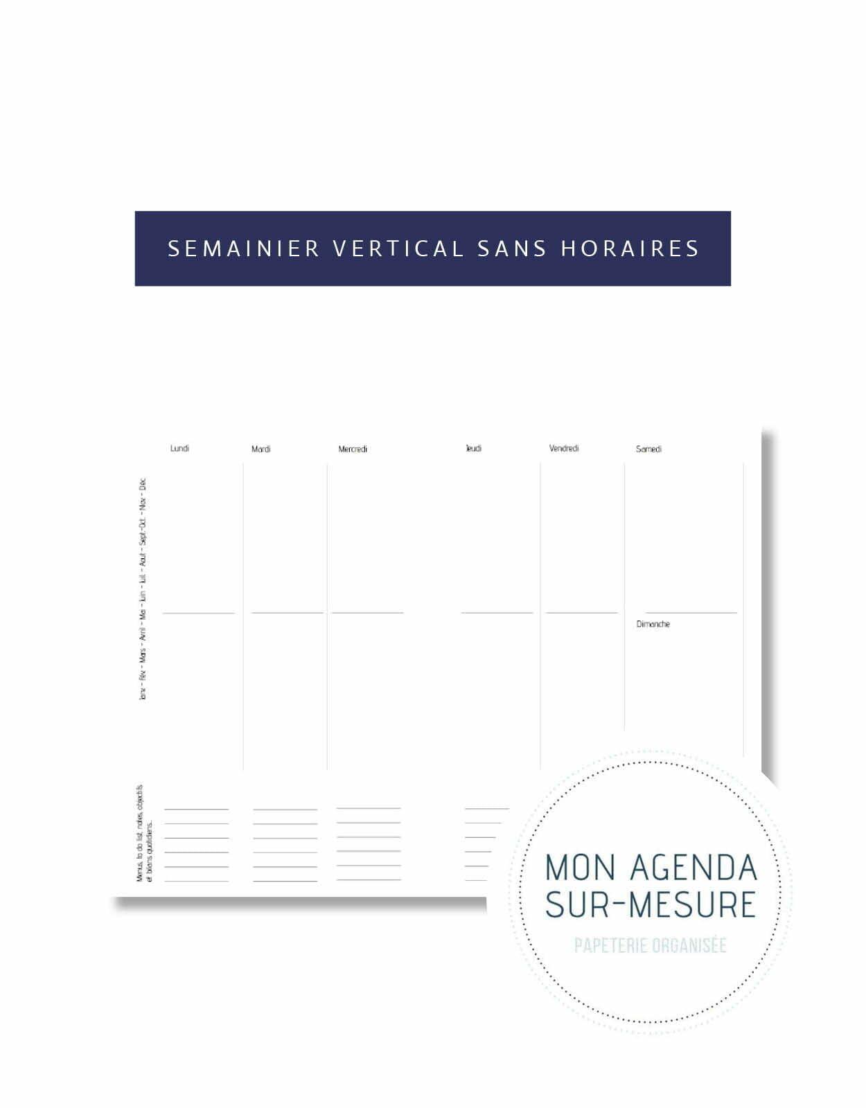 page-agenda-sur-mesure-semainier-vertical-sans-horaires