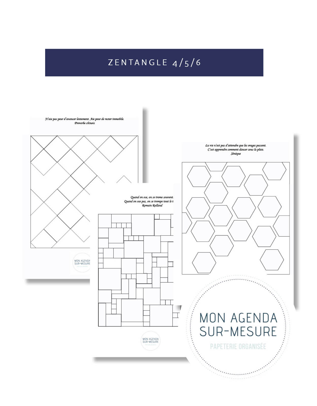 page-agenda-sur-mesure-zentangle-creatif