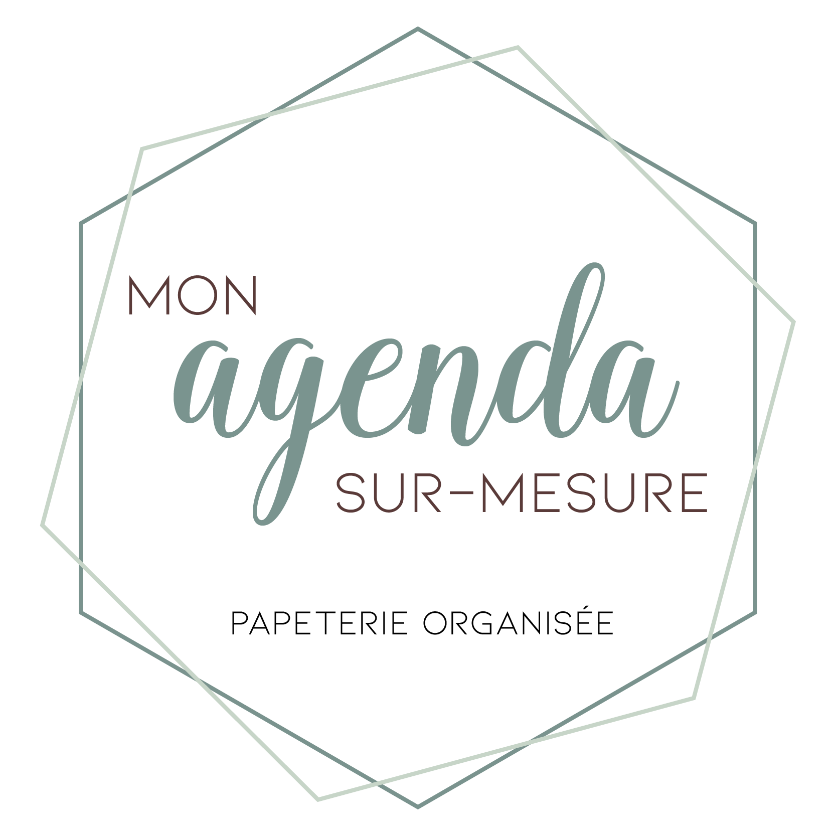 Logo - Mon Agenda Sur Mesure_Plan de travail 1